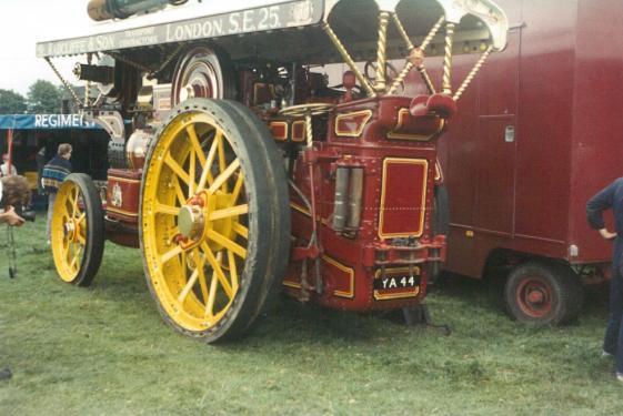 YA44 Showman's engine Radcliffe