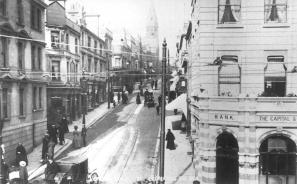 London Rd, St Leonars from seafront c1910
