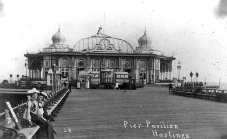 pier pavilion looking south c1910