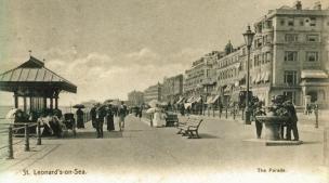 Promenade, St Leo looking west c1910