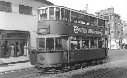 107 route 84 to Embankment, 25-9-1951
