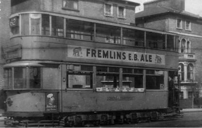 108 route 62 to Savoy St @ Forest Hill, post-war