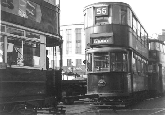 111 route 56 to Embankment with 1832 left 21-9-1950