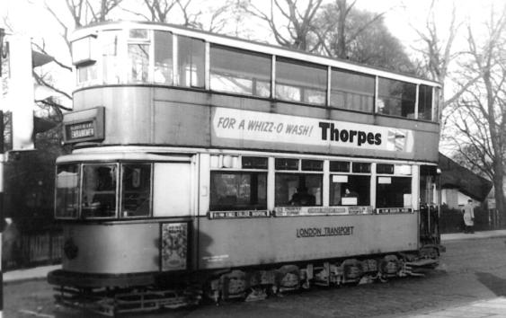 111 route 84 to Embankment @ Peckham Rye, post-war