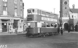115 route 62 to Strand, post-war