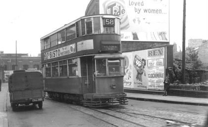 118 route 58 to Victoria, 1948