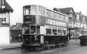 127 route 58 to Blackwall Tnl @ Catford, post-war