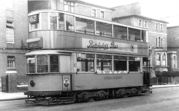 128 route 62 to Strand, post-war