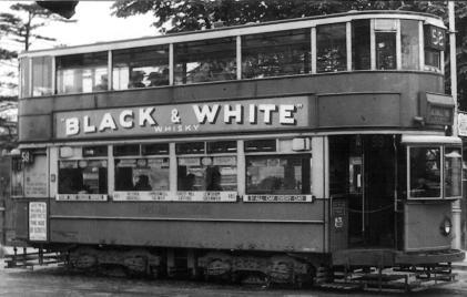 130 route 58 to Blackwall Tnl @ Hornimans, pre-war