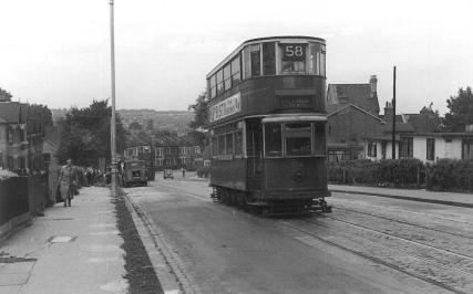 134 route 58 to Victoria, 26-9-1951