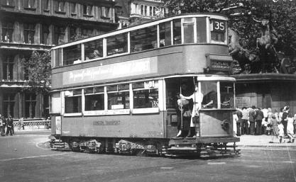 139 route 35 to Highgate, post-war
