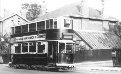 139 route 84 to Embankment @ Peckham Rye terminus, post-war