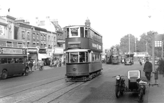 140 route 62 to Forest Hill, post-war