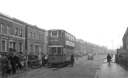 145 route 35 to Forest Hill in Malpas Rd, post war