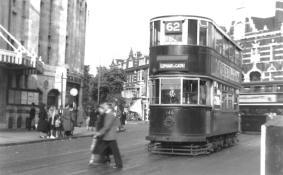 146 route 62 to Elephant & Castle, 22-9-1951