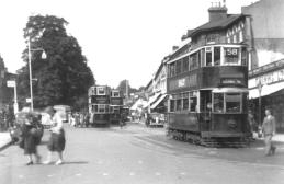 151 route 58 to Blackwall Tnl, post-war