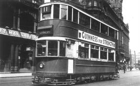 153 route 11 to Moorgate @ Old St 19-6-1938