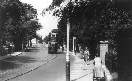 154 route 58 @ Lewisham Rd, Blackheath 27-5-1950