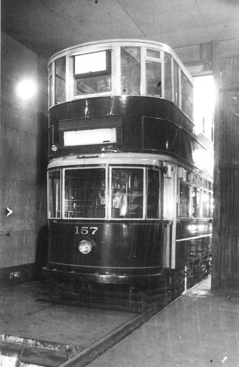 157 in Kingsway Subway 2-1932
