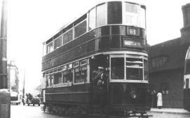 301 route 63 to Aldgate pre-war