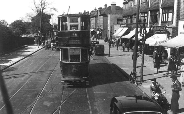 308 route 46 seen from 1049 @ Eltham 13-5-1950