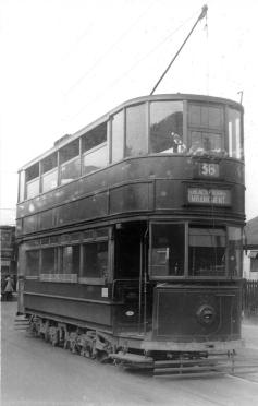 309 route 36 to Embankment @ Abbey Wood post-war