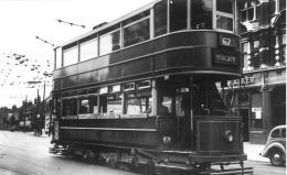 325 route 67 to Aldgate @ Boleyn Junc 25-7-1938