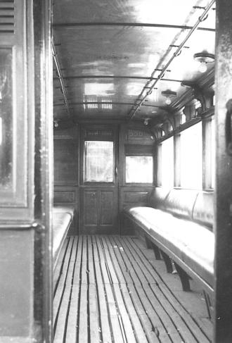 330 staff car lower saloon interior