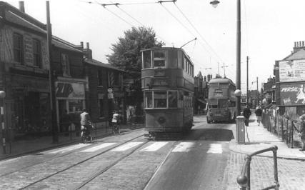 336 route 36 to Abbey Wood 5-7-1952