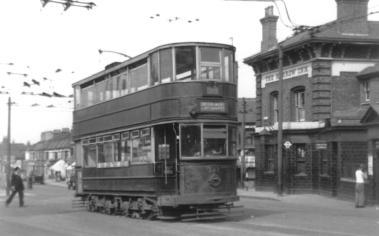 342 route 38 to Embankment @ Harrow Inn, Abbey Wood 19-4-1952