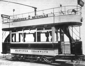7 on Hastings-Bexhill serv 1907