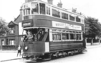 89 route 63 to Stratford Broadway, pre-war
