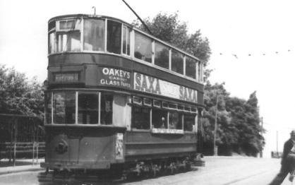 96 route 44 to Beresford Sq @ Woolwich Common, post-war