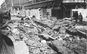 B1 Stockwell Rd-Brixton Rd SW9 bomb 27-10-40