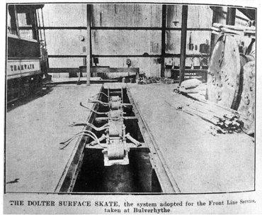 Bulverhythe Depot Dolter skate on pit 18-2-1909