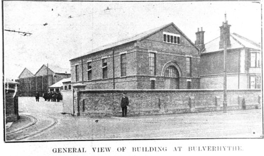 Bulverhythe Depot from road 18-2-1909