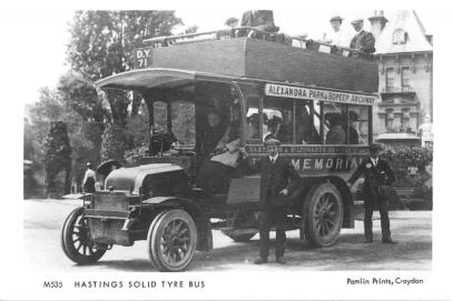 H & St Leo Bus Co DY71 @ Alexandra Park