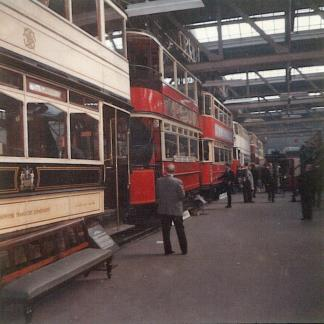 Line-up trams, Clapham Museum