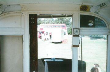 Tramcar body bulkhead detail 16-7-1995