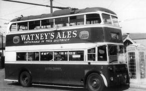 Trolley 2 serv 9 to St Helens, wartime
