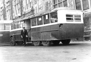 Trolley 45 bus stn 8-11-1971
