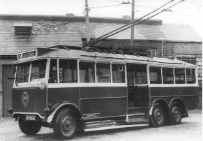 Trolley 49 Silverhill Depot WW2 pc