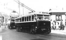 Trolley 55 DY5582 serv 9 to Silverhill @ Stade