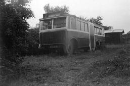 Trolley DY6119 in field, early 1930s