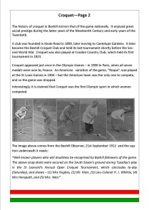 Croquet - Page 2