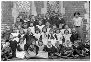 St Marks Infants' School, Little Common c1904
