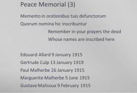 Peace Memorial - 3