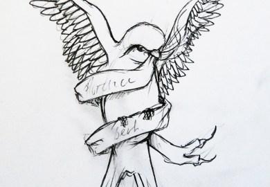 Sparrow Tattoo Design