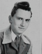 Richard's senior picture from 1945