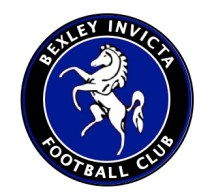 Original badge, before the white horse was replaced by a better-quality image